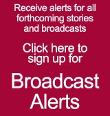 click here to sign up for Research-TV's broadcast alert service