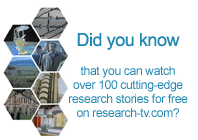 did you know that you can watch over 100 videos on research-tv.com?